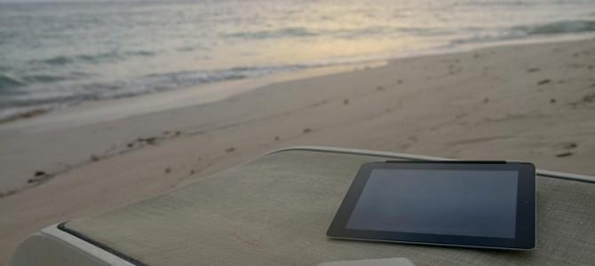La tablette et les huiles solaires font elles bon ménage ?