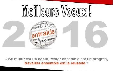 FO Société Générale vous présente ses voeux pour 2016