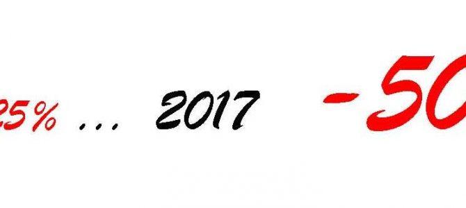 Les promos «Vacances CCE», saison 2017