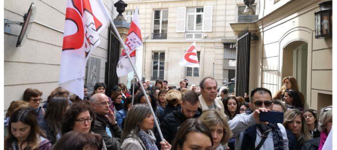 17eme jour de grève à la Caixa Geral De Depositos