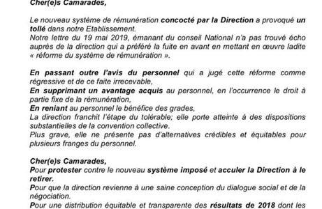 FO Société Générale soutient l'appel à la grève des salariés de la Société Générale du Maroc !