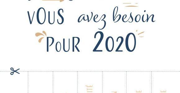 Voeux 2020